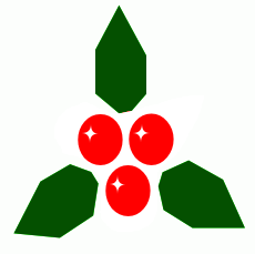 christmas holly8
