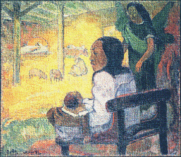 christmas nativity Gauguin