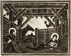 christmas nativity Gill 2