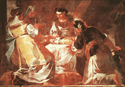 christmas nativity Goya
