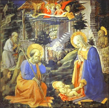 christmas nativity Lippi