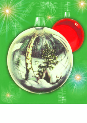 christmas tree ornaments 5 blank