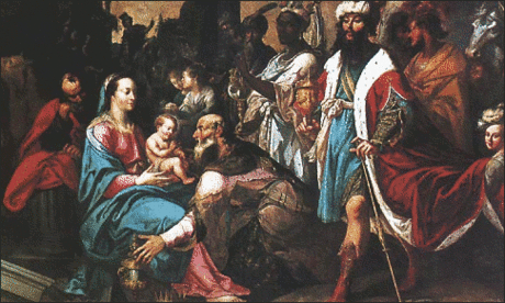 christmas Adoration of the Magi Lallemant