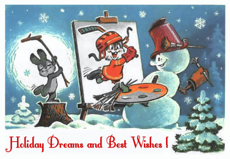 christmas holiday dreams and best wishes