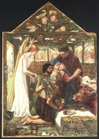 christmas nativity Rossetti