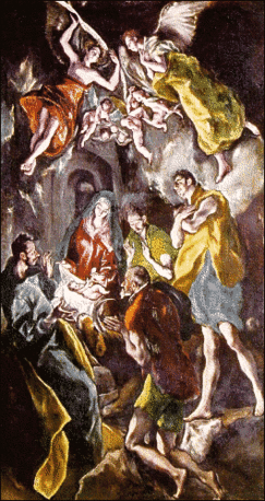 christmas shepherds El Greco