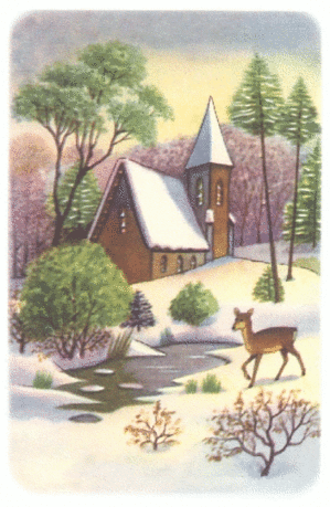 christmas winter scene 3