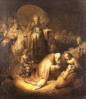 christmas Adoration of the Magi Rembrandt clip art