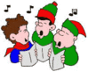 christmas Carolers 2 clip art