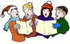 christmas Carolers 5 clip art