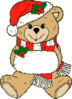 christmas Christmas Bear clip art