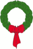 christmas Christmas wreath clip art