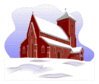christmas Church 7 clip art