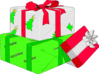 christmas Gifts013 clip art