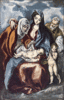 christmas Holy Family El Greco clip art