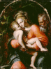 christmas Holy Family da Carpi clip art