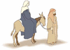 christmas Mary and Joseph clip art