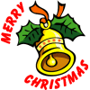christmas bell merry xmas clip art