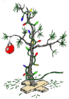 christmas charlie b tree clip art