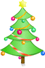 christmas christmas tree perfect clip art