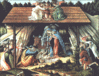 christmas from Mystic Nativity Botticelli clip art