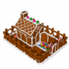 christmas gingBread house clip art