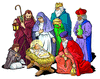 christmas nativity 1 clip art