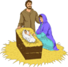 christmas nativity 3 clip art