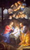 christmas nativity Champaigne clip art