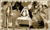 christmas nativity old photo clip art