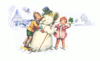 christmas snowman finishing touch clip art