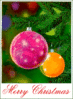 christmas tree ornaments merry christmas 1 clip art