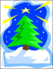 christmas tree star clip art