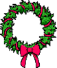 christmas wreath4 clip art