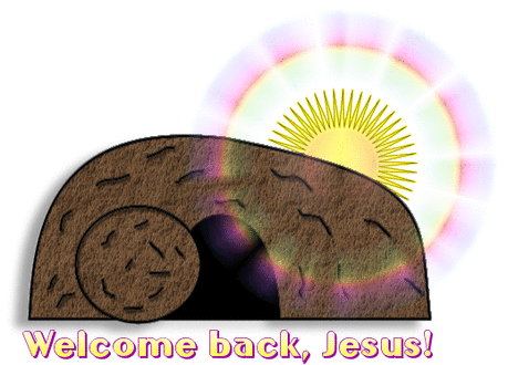 easter Religious welcome back Jesus