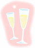 new year Champagne clip art
