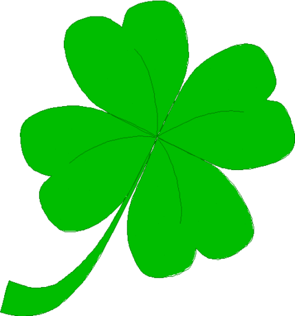 saint patricks day Four Leaf Clover 03
