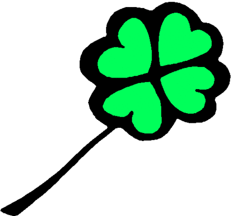 saint patricks day Four Leaf Clover 06