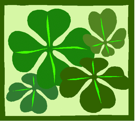 saint patricks day Four Leaf Clovers 2