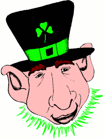 saint patricks day Leprechaun 24