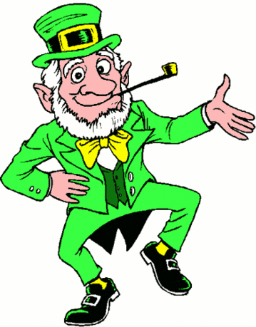 saint patricks day Leprechaun Dancing 1