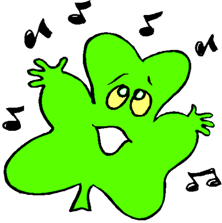 saint patricks day Shamrock Singing