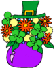 saint patricks day Bouquet clip art