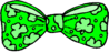 saint patricks day Bow Tie clip art