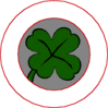 saint patricks day Four Leaf Clover 08 clip art