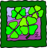 saint patricks day Four Leaf Clovers 3 clip art