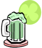 saint patricks day Green Beer 1 clip art