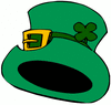 saint patricks day Hat 1 clip art