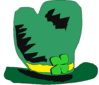 saint patricks day Hat 3 clip art