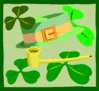 saint patricks day Hat Pipe 2 clip art